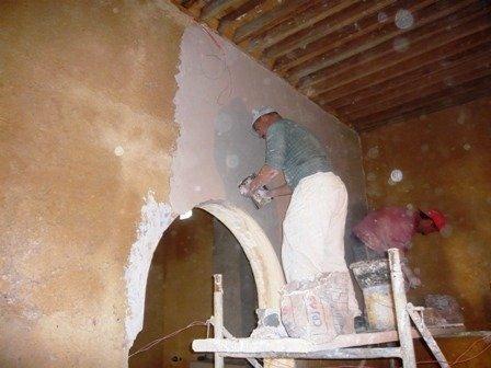 Platre des murs de la suite Fes.jpg