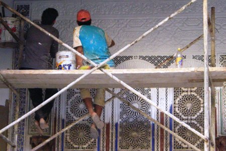 La peinture des platres sculptés.jpg