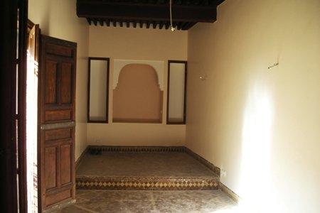 La peinture des chambres r novation du riad zitouna f s au maroc - La peinture des chambres ...